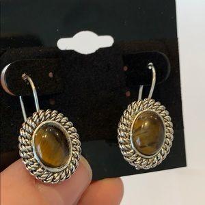 Avon Jewelry - 💐5/25 Avon stone silver tone earrings vintage